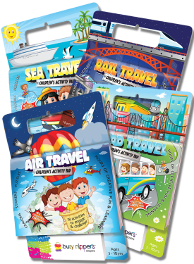 Travel Activity Pads