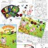 Farmyard Pencil Case Contents Collage